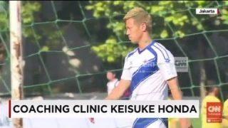 Keisuke Honda makes football school in Cambodia
