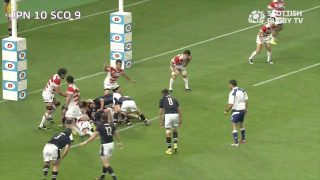 Scotland win Japan following World Cup 2015