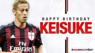 Keisuke Honda of AC Milan should turn to the baseball player?!