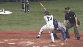 Tetsuto Yamada achieved the triple three for 2 years in a row