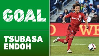 Tsubasa Endoh was drafted by Toronto FC in the first round