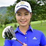 """""""Beautiful woman golfer"""" Ayaka Matsumori got first victory"""