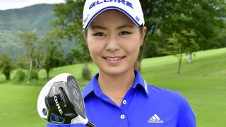 """Beautiful woman golfer"" Ayaka Matsumori got first victory"