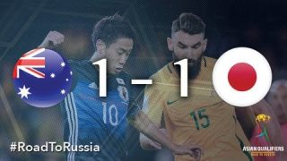 Genki Haraguchi involved to all goals, Japan drew with Australia