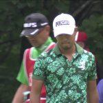 Satoshi Kodaira came from behind to win the Bridgestone Open