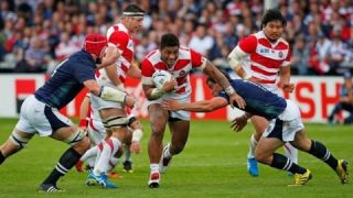 Almost had it! Japan lost a close match to Wales 33 to 30