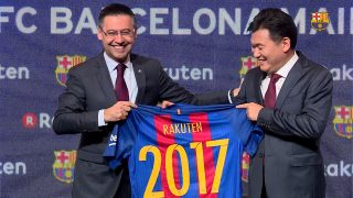 What is Rakuten to become FC Barcelona's primary shirt sponsor?