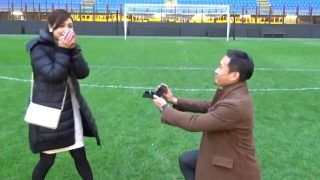 Inter Milan Yuto Nagatomo married Airi Taira & proposed at San Siro