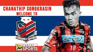The reason Chanathip Songkrasin transfers to Consadole Sapporo