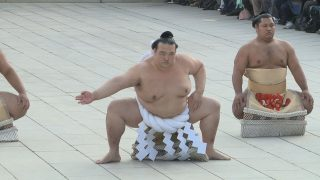 The memory Birth of Yokozuna Kisenosato & Ring-entering ceremony