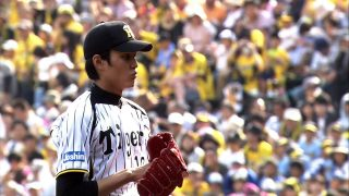 An up-close and personal look at Hanshin Tigers Shintaro Fujinami