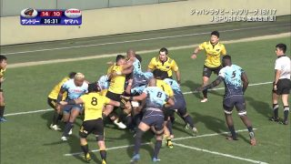 Suntory Sungoliath will win the championship of 16/17 Top League