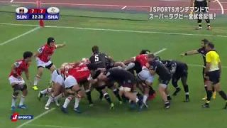 Remaining 5 minutes… Sunwolves lost a close match to Sharks